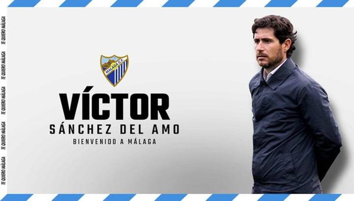 Víctor Sánchez del Amo, nuevo entrenador del Málaga
