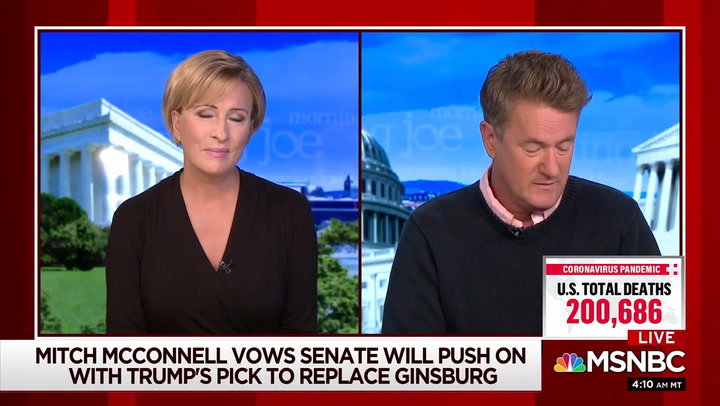 Scarborough: Lindsey Graham, Republicans 'Lying Openly' About Filling SCOTUS Vacancy