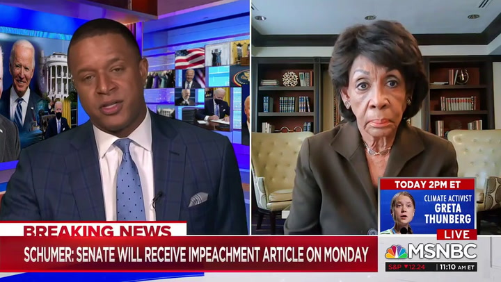 Maxine Waters: My Investigations Into Trump's Finances Will 'Continue'