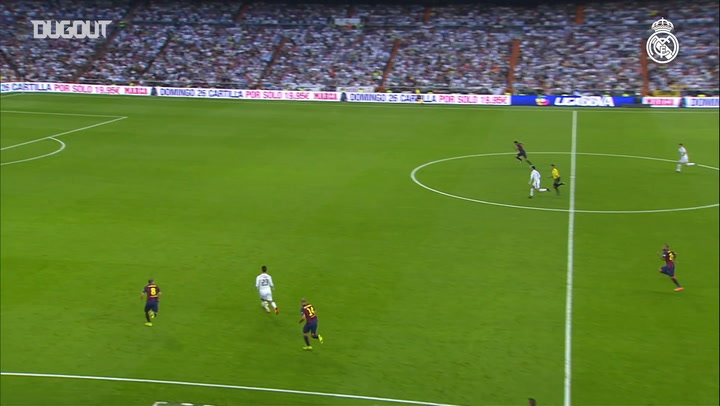 Team Goals: Karim Benzema Vs Barcelona