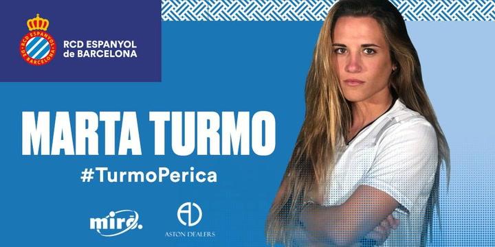 Marta Turmo, segundo fichaje del Espanyol femenino