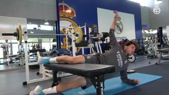 Nuevo entrenamiento del Real Madrid