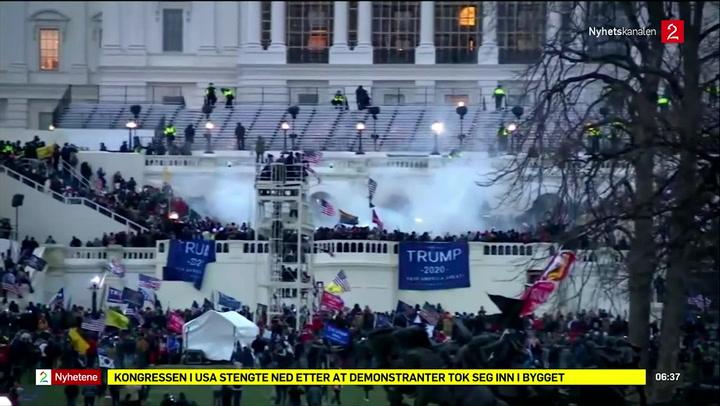 Ekstra nyhetsinnslag fra Washington