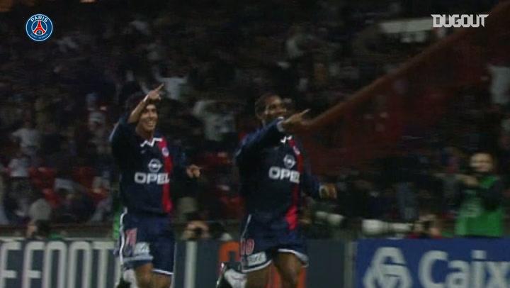 Jay-Jay Okocha' s stunning goal vs Lyon in 2001