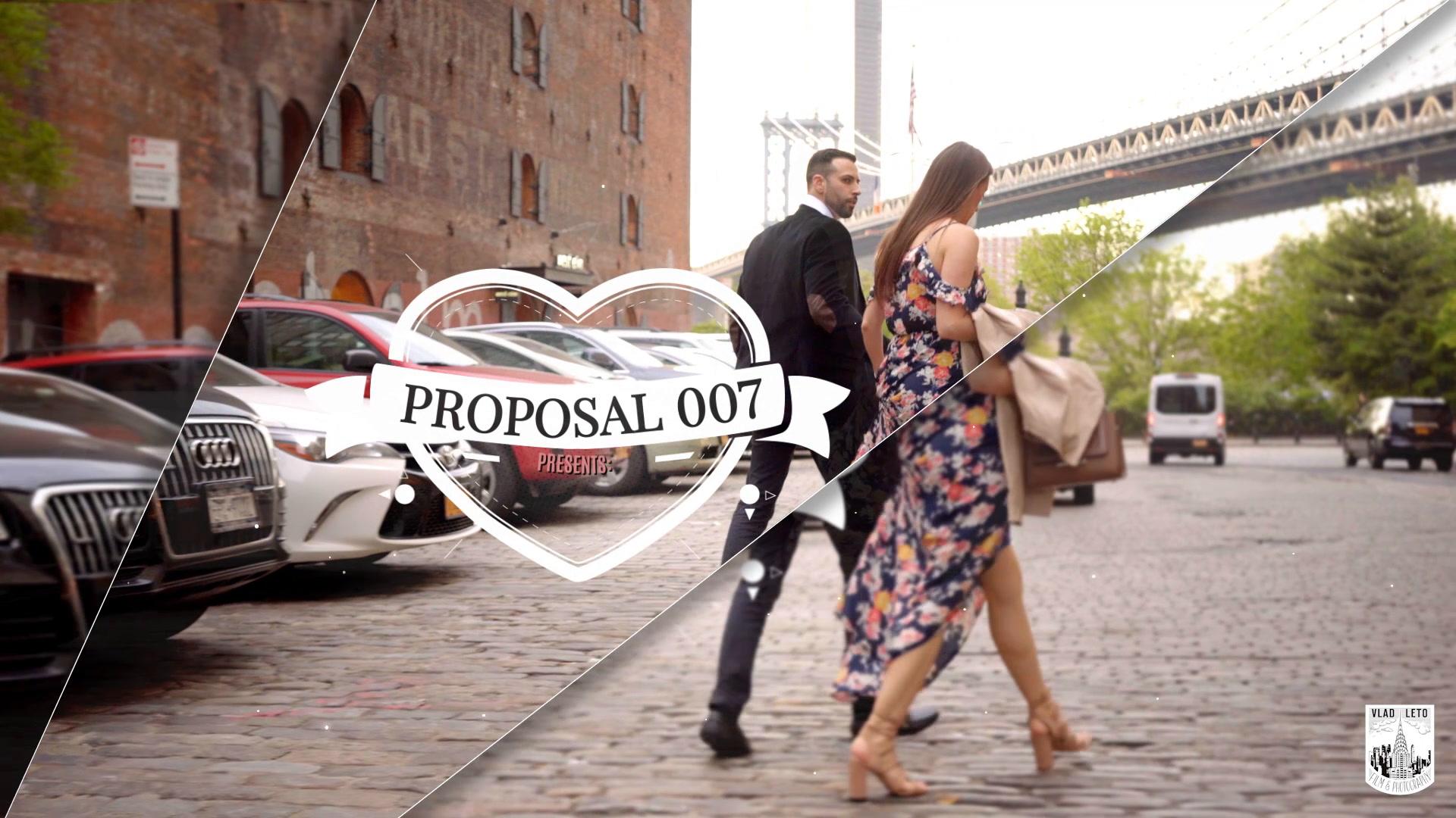 Joseph + Heather proposal | Brooklyn, New York | Brooklyn Bridge