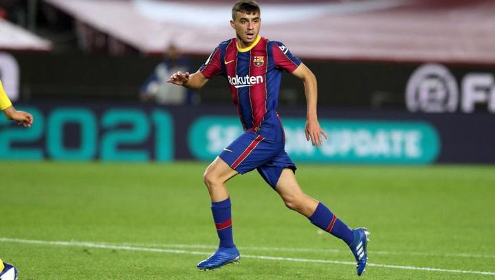 Los números de Pedri con el Barça actualizados a 5 de enero de 2021