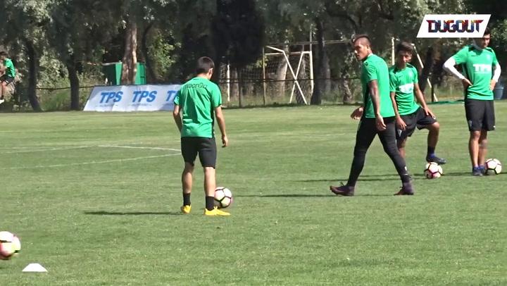Shot Training Ahead The Clásico Porteño