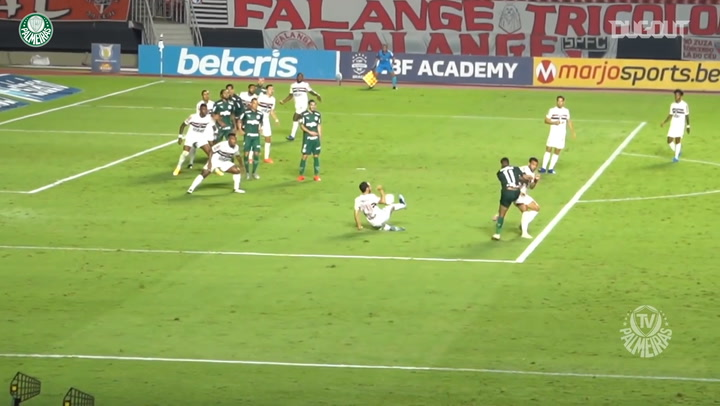 Rony scores late equaliser at São Paulo