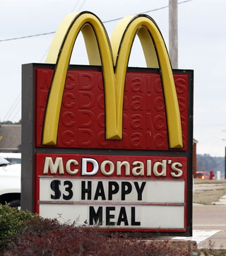 Changes to Happy Meal on the way