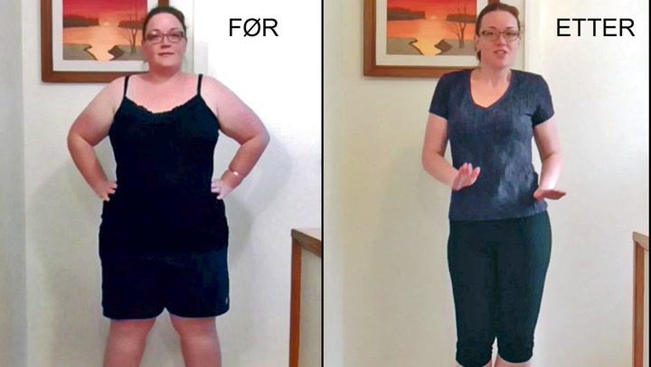 Hun danser seg gjennom 70 kilos vekttap