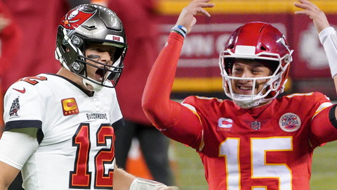 Does Tom Brady or Patrick Mahomes have better Super Bowl MVP odds?