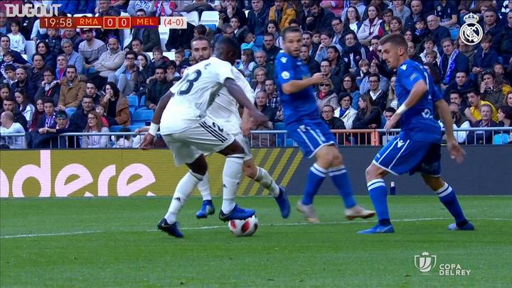 MATCHDAY: REAL MADRID 6-1 MELILLA COPA DEL REY
