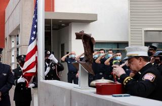 Somber Las Vegas ceremonies mark 9/11 Anniversary