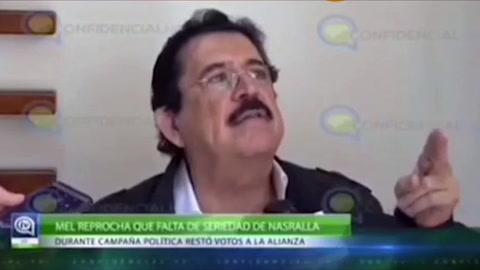 Video: Mel Zelaya asegura que  Juan Orlando Hernández ganó las elecciones presidenciales