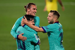 Así fue el sensacional gol de Griezmann en el Villarreal