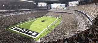 Features of the Las Vegas Raiders stadium