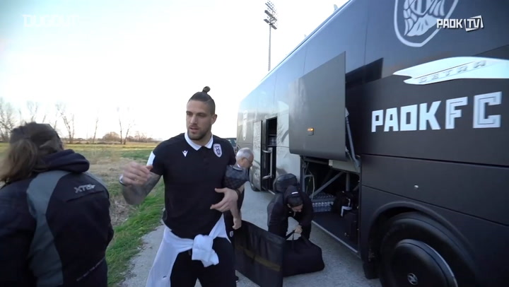 Behind the scenes of PAOK's 1-1 draw with Xanthi