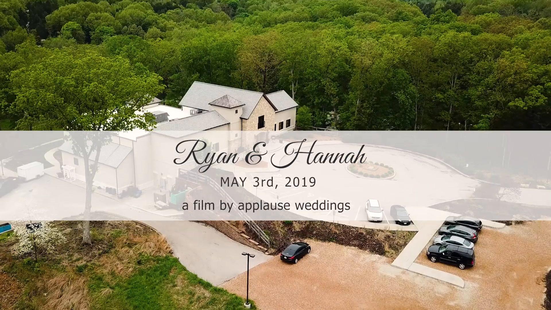 Ryan + Hannah | Wildwood, Missouri | Silver Oaks Chateau