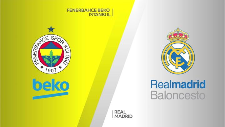 Resumen del Fenerbahce Istanbul - Real Madrid (65-94) de Euroliga