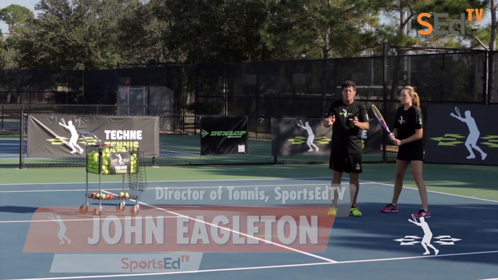 Forehand Swinging Volley/ Mid-Court