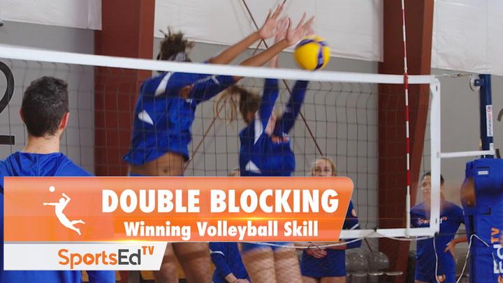 DOUBLE BLOCKING: Winning Volleyball Skill