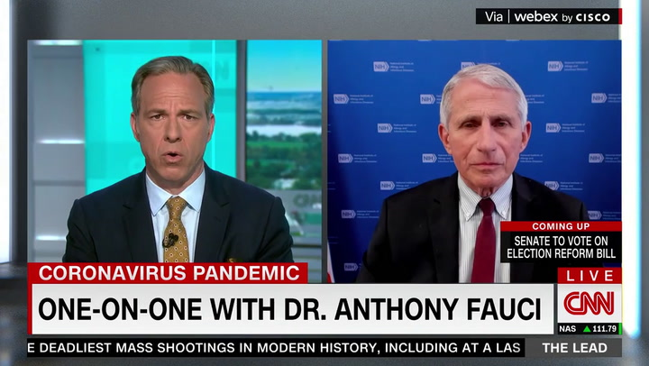 Fauci on the U.S. Missing Biden's Vaccination Goal: Not a 'Big Deal'