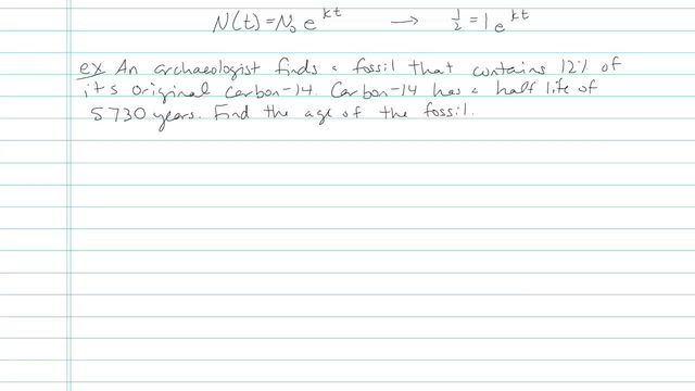 Exponential Growth and Decay - Problem 7