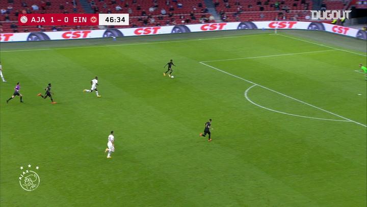 Antony's audacious back heel assist vs Frankfurt