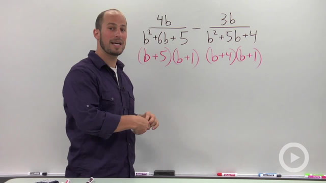 Adding and Subtracting Rational Expressions - Problem 3