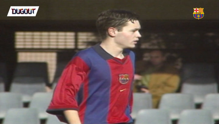 Throwback: Iniesta´s Greatest Academy Goals