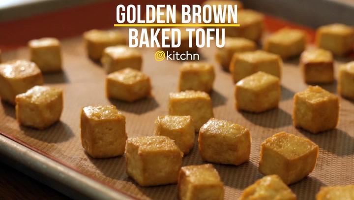 How To Make Baked Tofu for Salads Sandwiches & Snacks