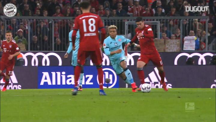 James Rodríguez Nets First Bayern Hat-Trick