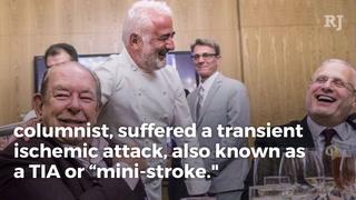 RJ columnist Robin Leach recovering from mini-stroke