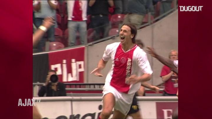 Zlatan Ibrahimović's best goals for Ajax