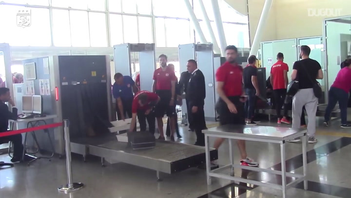The Away Trip To Antalya In 58 seconds