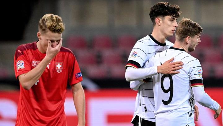 Nations League: Alemania-Suiza (3−3)