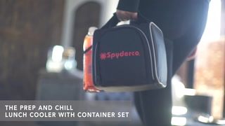 Prep And Chill Lunch Cooler With Container Set