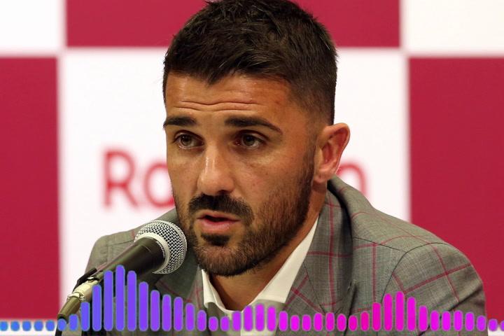 David Villa: Mi mejor momento...hacer realidad mi sueño de niño, levantar la Copa del Mundo