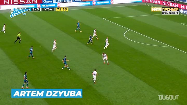 Zenit's best goals of 2020