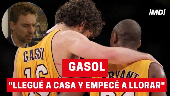 Pau Gasol explica cómo se enteró de la muerte de Kobe Bryant