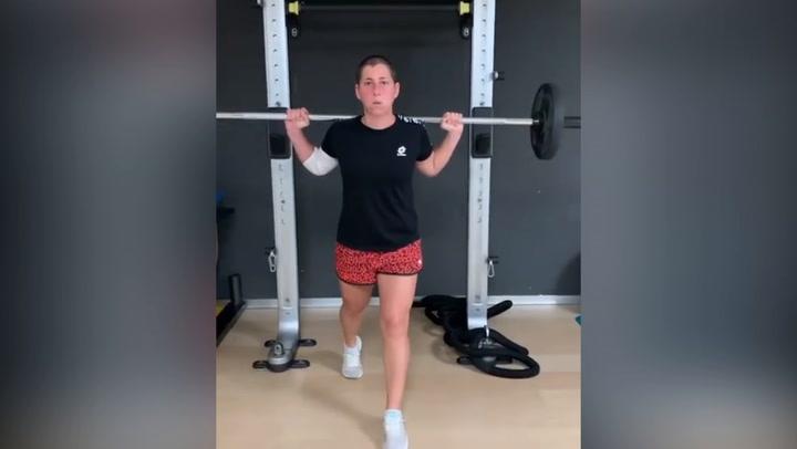 Carla Suárez se ha mantenido en forma