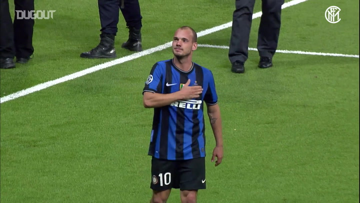 Wesley Snejider's best Inter moments