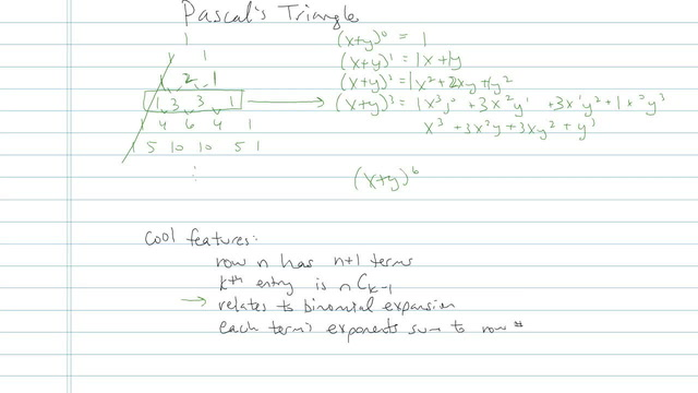 Pascal's Triangle  - Problem 1