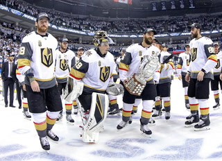 Golden Knights On Western Conference Win