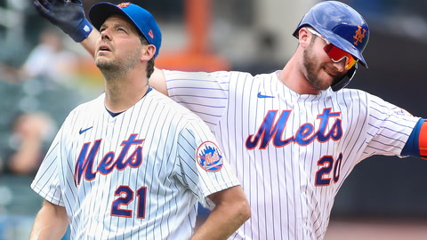 Pete Alonso carrying Mets' offense, reacting to Rich Hill's debut