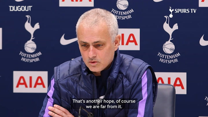 José Mourinho provides injury update on Heung Min-Son and Harry Kane