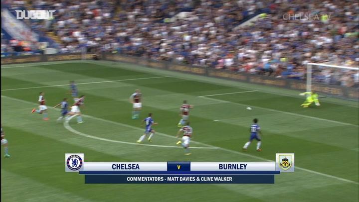 Eden Hazard caps off Chelsea team goal against Burnley
