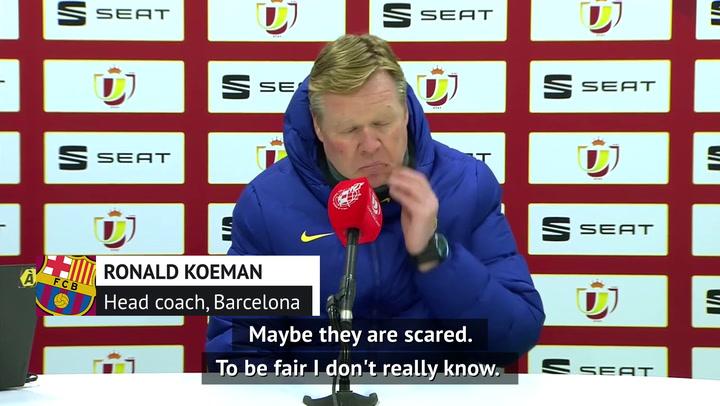 Koeman bemoans Barca penalty misses in Copa win
