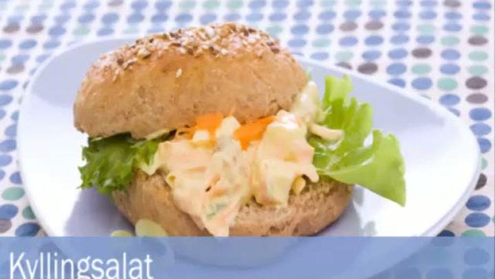 Hvordan lage påleggsalat med kylling og karri