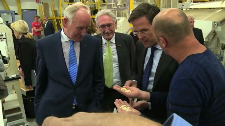Video: Mark Rutte op bezoek in Noord-Holland